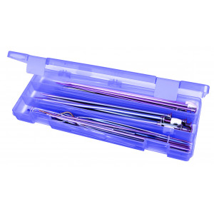 Artbin Artbin plastboks til strikkepinde lilla 31,5x12,3x3,5 cm på rito.dk