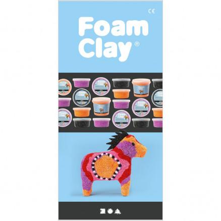 foam clay® brochure, str. m65 , dansk, 25stk. fra foam clay