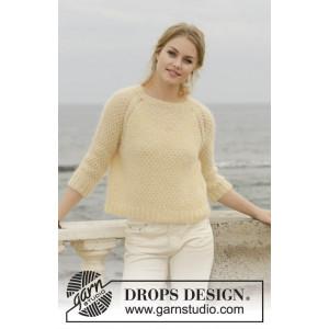 Le Conquet Jumperby DROPS Design - Bluse Strikkeopskrift str. XS/S - XXXL