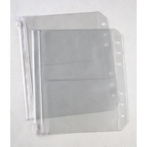 KnitPro Todelte Plastiklommer til Ringbind - 2 stk