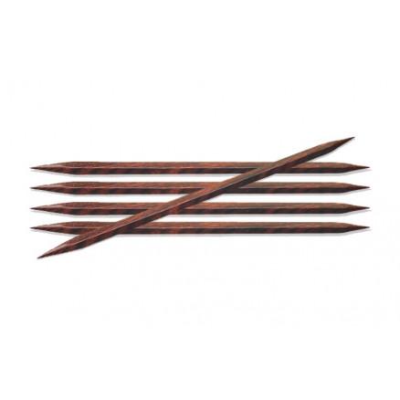 Knitpro Cubics Strømpepinde Træ 15cm 2,50mm / 5.9in Us1½