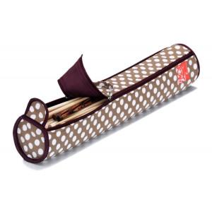 Prym Takse til strikkepinde Polka Dots Beige 9,5x51,5 cm