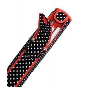 Prym Takse til strikkepinde Polka Dots Sort 9,5x51,5 cm