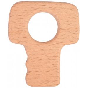 Infinity Hearts Træring Nøgle 8x7cm