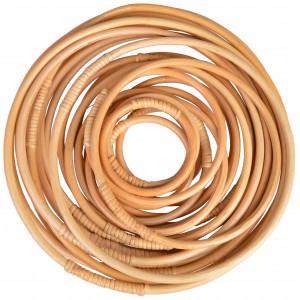Infinity Hearts Bambusring 10-30cm - 25 stk