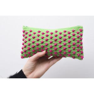 Boblepung af Aslan Design - Pung Hækleopskrift