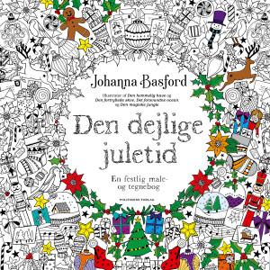 Den dejlige juletid - Malebog af Johanna Basford
