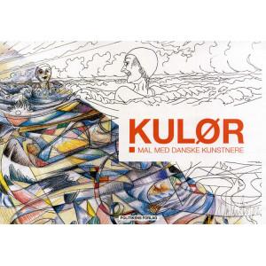 KULØR - Mal med danske kunstnere - Malebog af Signe Schmidt-Jørgensen