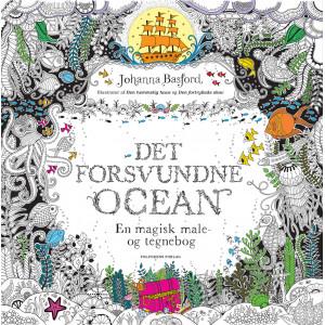 Det forsvundne ocean - Malebog af Johanna Basford