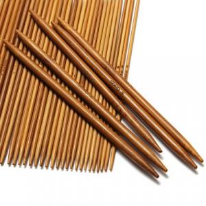 Bambus Strømpepindesæt 2-5mm 11 størrelser