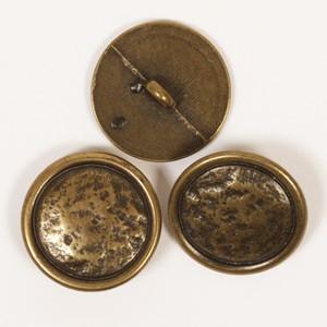 Guld Messing knap 20mm 530 - 1 stk