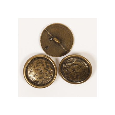 Image of   Drops Guld Messing knap 20mm 530 - 1 stk