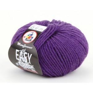 Mayflower Easy Care Classic Garn Unicolor 208 Mørk Lilla