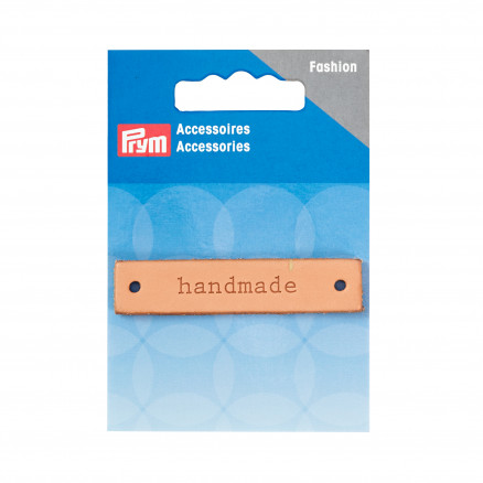 Image of   Prym Label Læder handmade 60x13mm - 1 stk