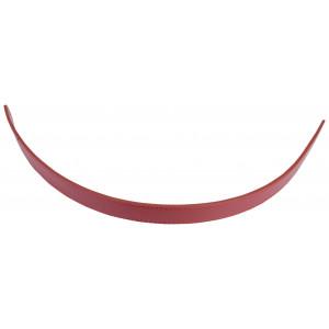 Image of   Infinity Hearts Taskehank Imiteret læder Bordeaux rød 1,8x62cm - 1 stk