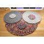 Filtkugletæppe opskrift af Rito Krea - DIY-tæppe 20-200cm