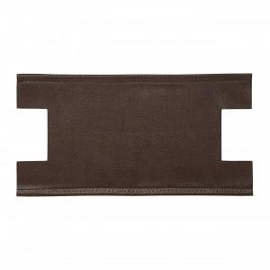 Prym Taskebund Caroline Imiteret Læder Mørkebrun 32x12x6cm