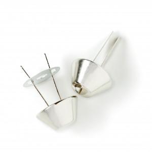 Prym Taskefødder Metal Sølv Ø20mm - 4 stk