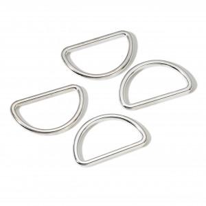 Prym D-ring Zink Sølv 25mm - 4 stk