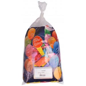 Bini Balloons Balloner Aflange Ass. farver 30-50cm - 100 stk