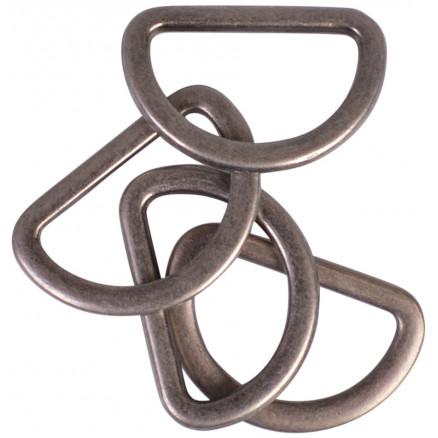 Prym D-ring Zink Antik Messing 20mm - 4 stk thumbnail