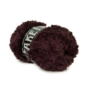 Mayflower Fake Fur Garn Unicolor 19 Aubergine
