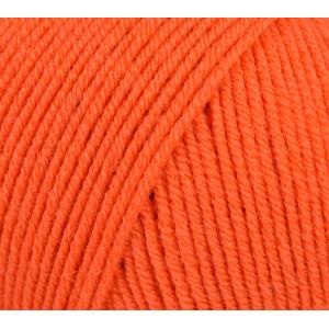 Infinity Hearts Baby Merino Garn Unicolor 19 Mørk Orange