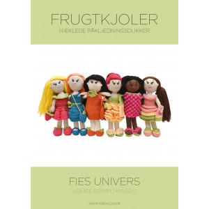 Hæklede påklædningsdukker - Fies univers - Frugtkjoler - Bog af Louise Grimm Hansen