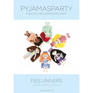 Hæklede påklædningsdukker - Fies univers - Pyjamasparty - Bog af Louise Grimm Hansen