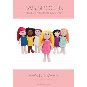 Hæklede påklædningsdukker - Fies univers - Basisbogen - Bog af Louise Grimm Hansen