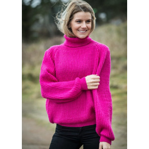 Mayflower Pink Sweater - Sweater Strikkeopskrift str. S - XXL