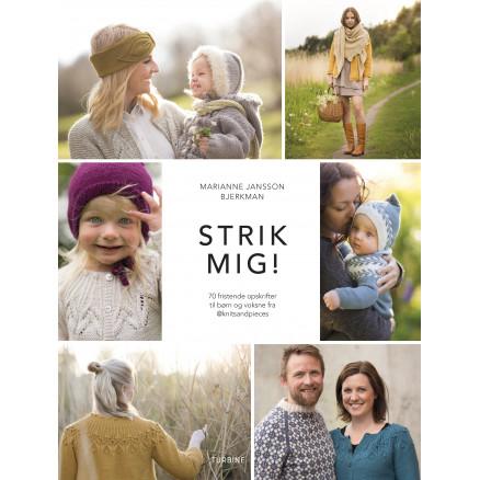 Image of   Strik mig! - Bog af Marianne Jansson Bjerkman