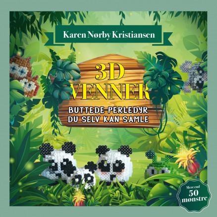 Image of   3D-venner - Bog af Karen Nørby Kristiansen