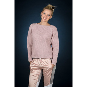 Mayflower Rosa raglan bluse - Sweater Strikkeopskrift str. S - XXXL
