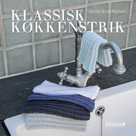 Image of   Klassisk køkkenstrik - Bog af Sandie Broe Nielsen