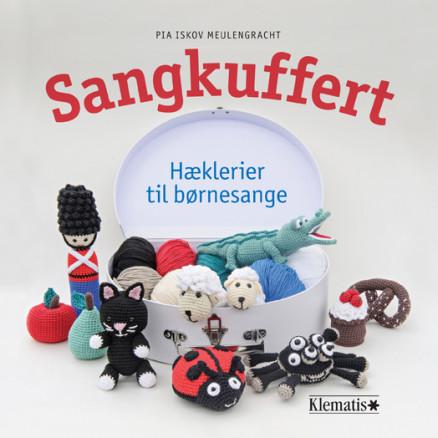 Image of   Sangkuffert - Hæklerier til børnesange - Bog af Pia Iskov Meulengracht