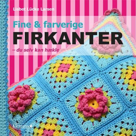 Image of   Fine og farverige firkanter - du selv kan hækle - Bog af Lisbet Lücke