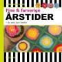 Fine og farverige årstider - du selv kan hækle - Bog af Lisbet Lücke Larsen