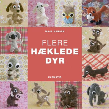 Image of   Flere hæklede dyr - Bog af Maja Hansen