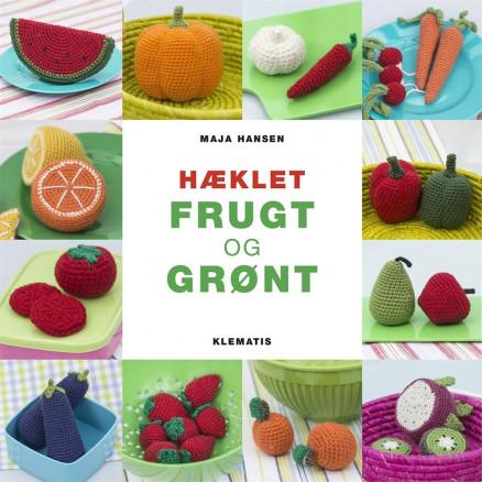 Image of   Hæklet frugt og grønt - Bog af Maja Hansen