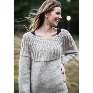 Mayflower Sweater with Rundt Bærestykke - Sweater Strikkeopskrift str. S - XXXL