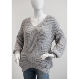 Mayflower Patentstrikket Sweater - Sweater Strikkeopskrift str. S - XXXL