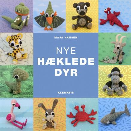 Image of   Nye hæklede dyr - Bog af Maja Hansen