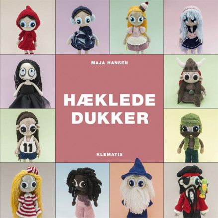 Image of   Hæklede dukker - Bog af Maja Hansen