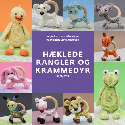 Image of   Hæklede rangler og krammedyr - Bog af Majbritt Christensen & Michelle