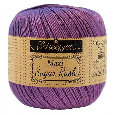 Image of   Scheepjes Maxi Sugar Rush Garn Unicolor 113 Delphinium