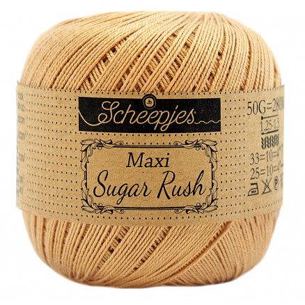Image of   Scheepjes Maxi Sugar Rush Garn Unicolor 179 Tropaz