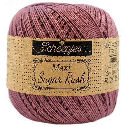 Image of   Scheepjes Maxi Sugar Rush Garn Unicolor 240 Amethyst