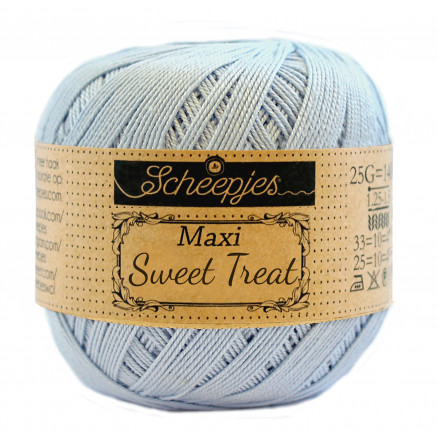 Image of   Scheepjes Maxi Sweet Treat Garn Unicolor 173 Bluebell