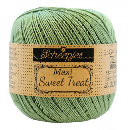Image of   Scheepjes Maxi Sweet Treat Garn Unicolor 212 Sage Green